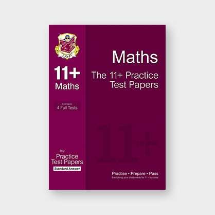 CGP 11+ Maths Practice Test Papers: Standard Answers